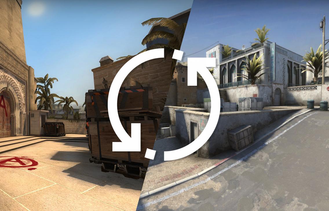 Как поменять карту в CS:GO через консоль