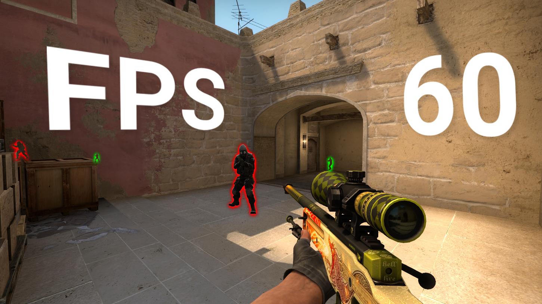 Как узнать количество FPS в игре CS:GO