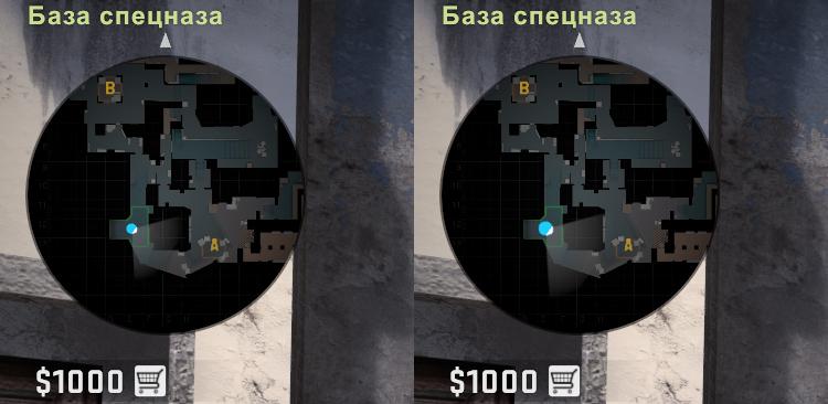 Изменения размера иконок на карте