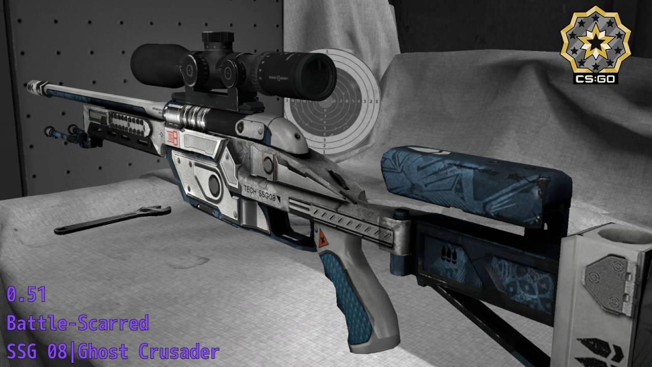 SSG 08 Призрачный фанатик