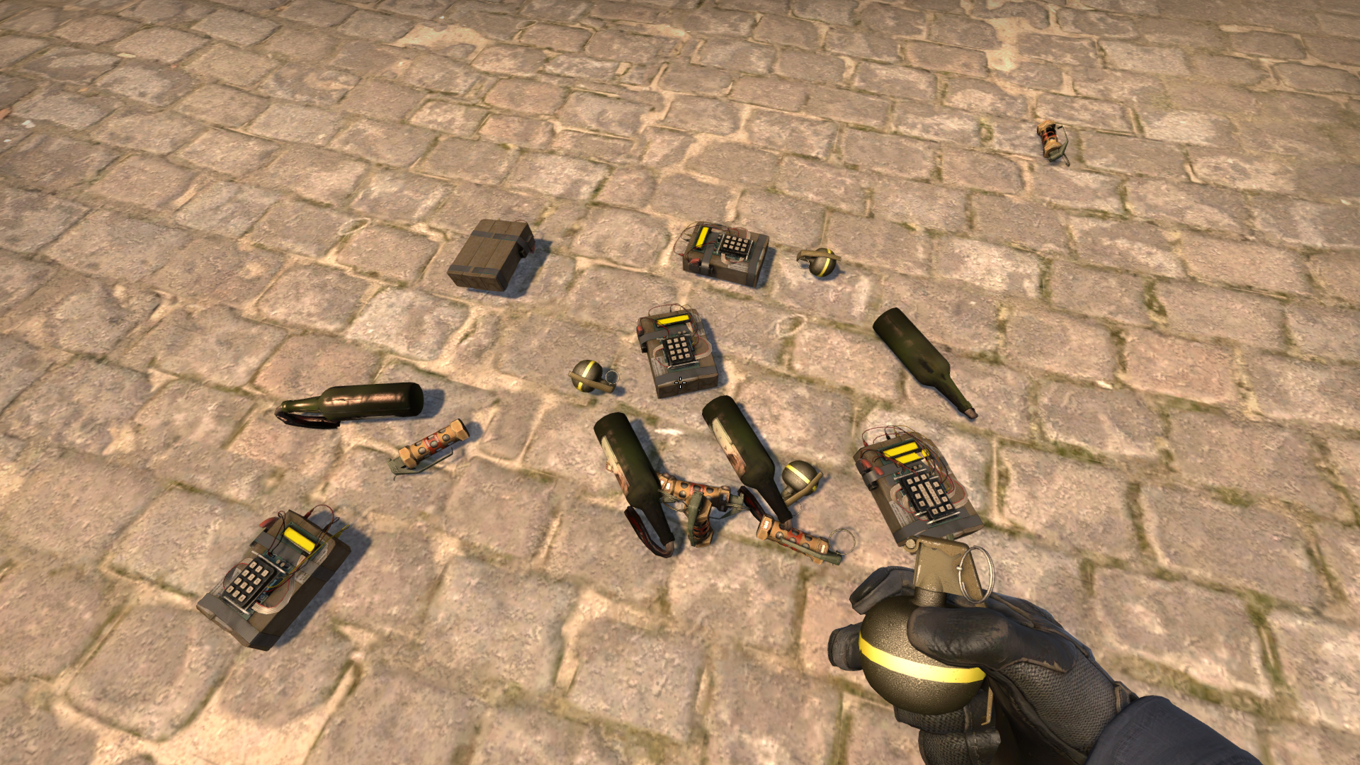 Консольные команды для выдачи гранат в CS:GO