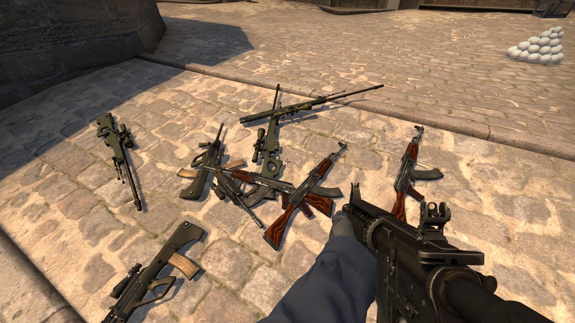 Консольные команды для выдачи оружия в CS:GO