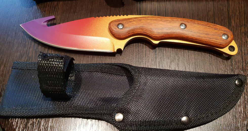 Купить нож с лезвием-крюком