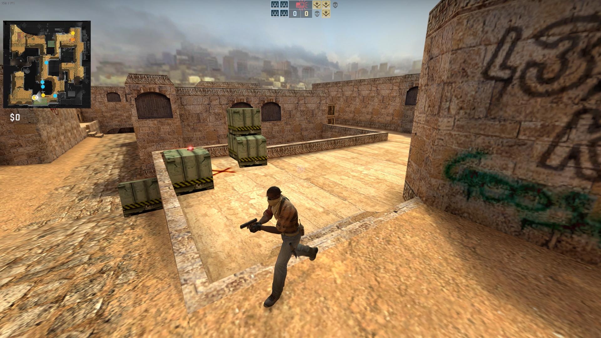 Скачать карту для CS:GO в стиле CS 1.6
