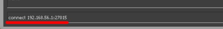 Подключение к серверу по IP в CS:GO