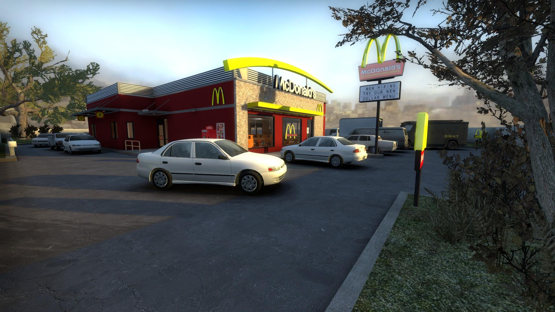 Скачать карту McDonald's для CS:GO бесплатно