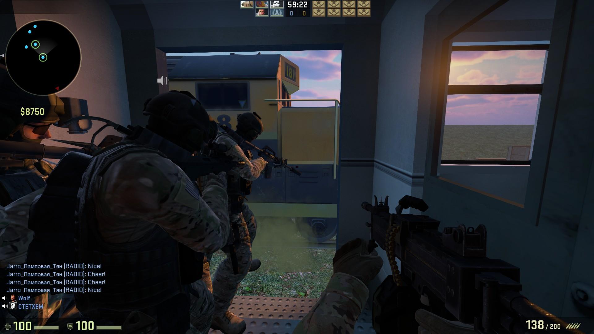 Скачать карту coop_mission_rush для CS:GO бесплатно