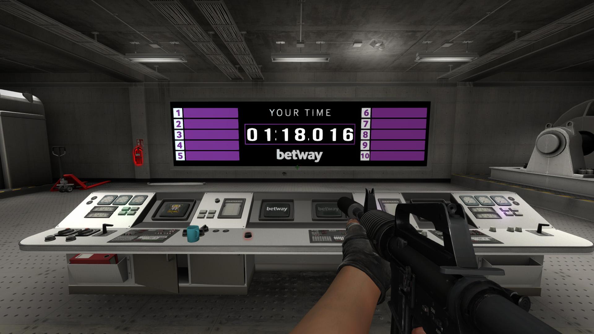 Время на карте Aim Challenge в CS:GO