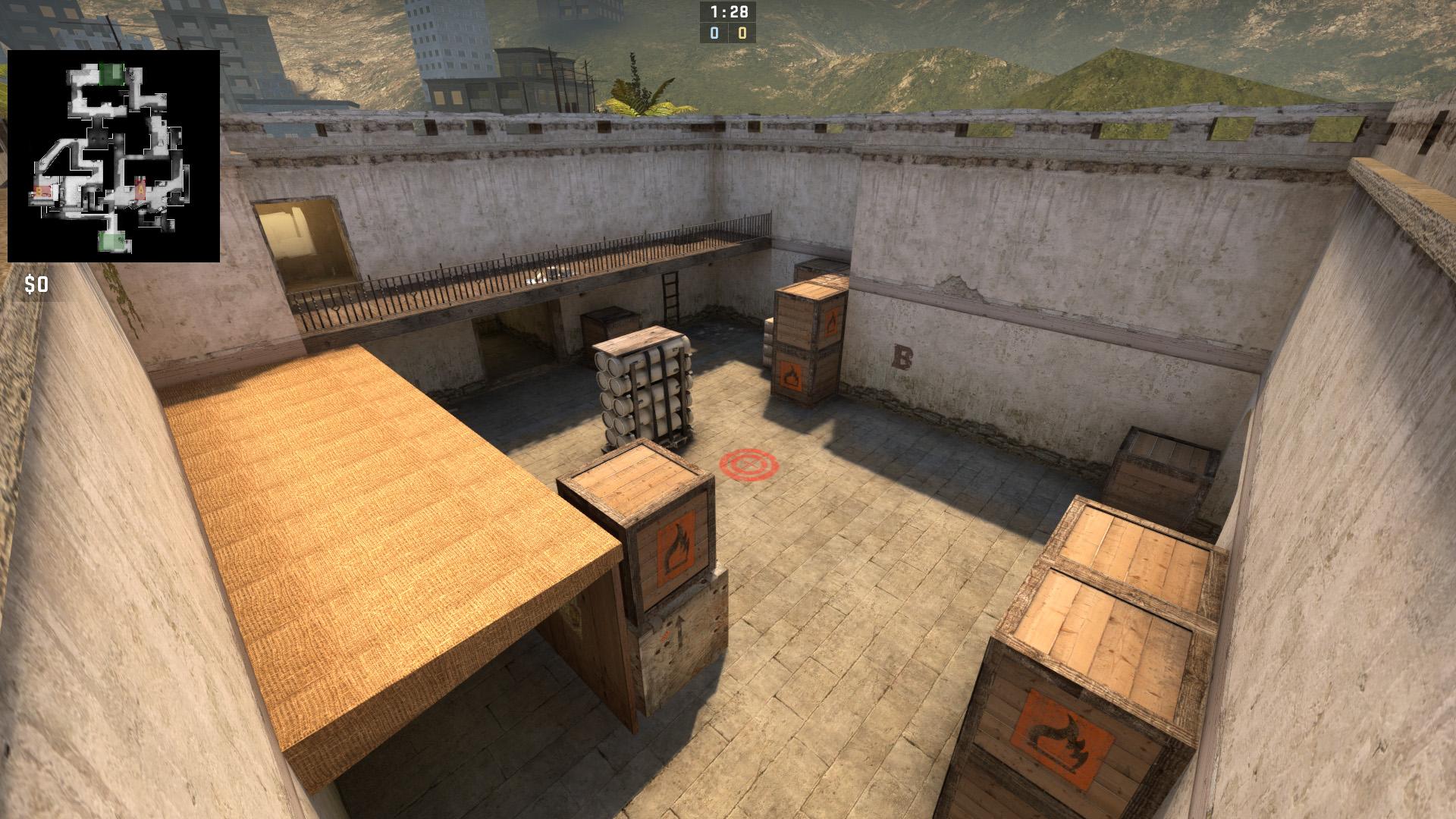 Скачать карту Toscan для CS:GO бесплатно