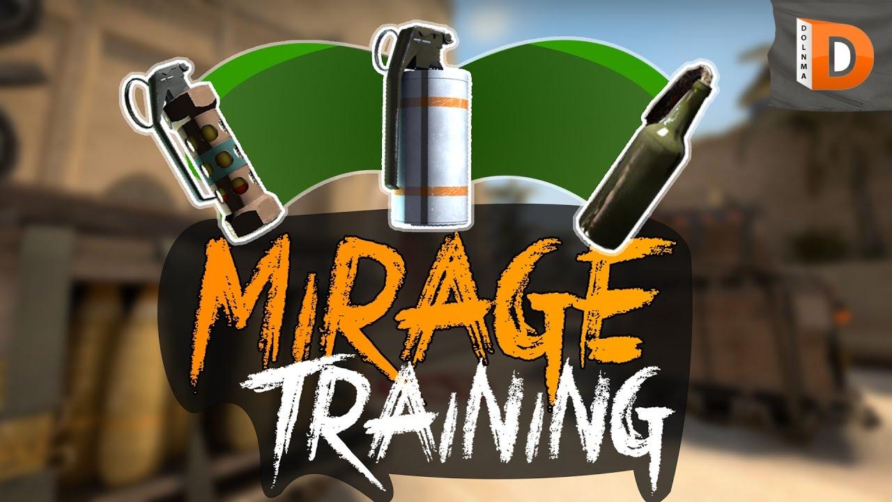 Скачать карту для тренировки Миража в CS:GO - Mirage Training