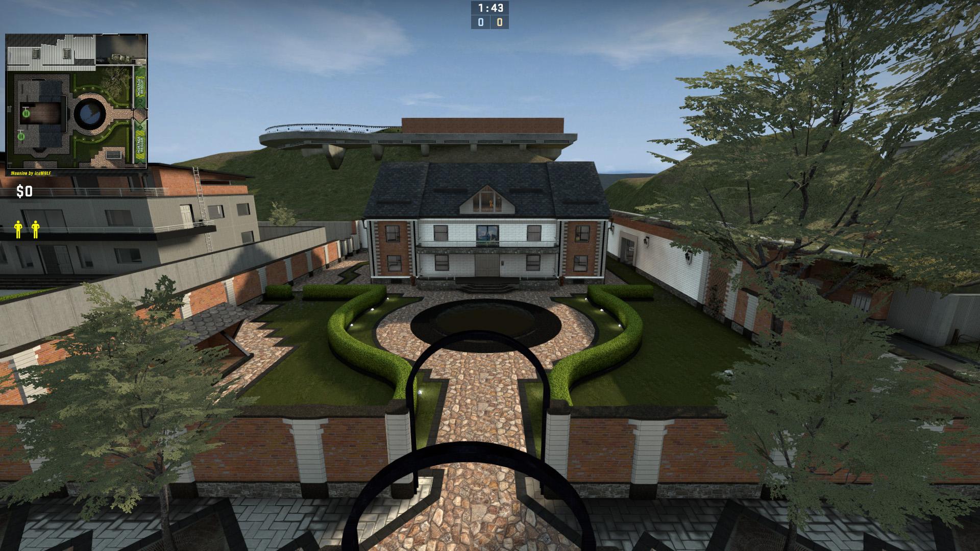 Скачать карту Mansion для игры CSGO