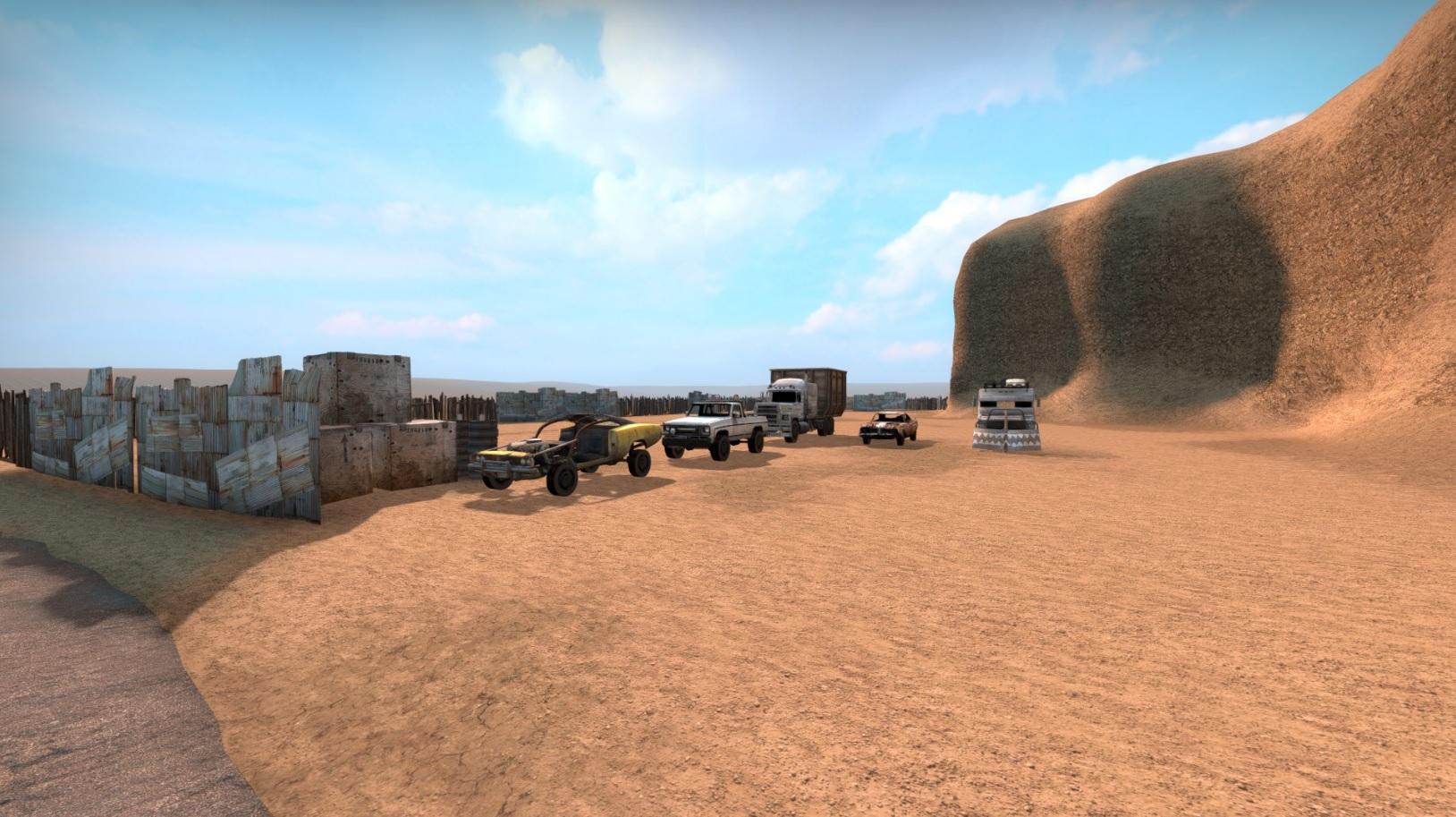 Скачать карту Truck Wars