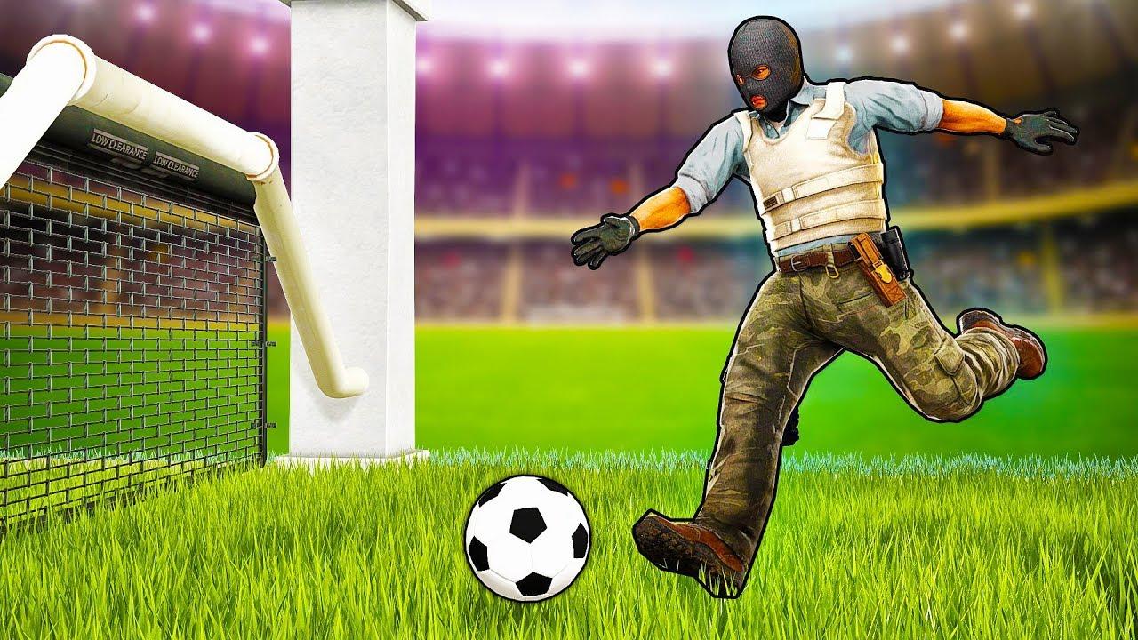 Как играть в футбол CS:GO