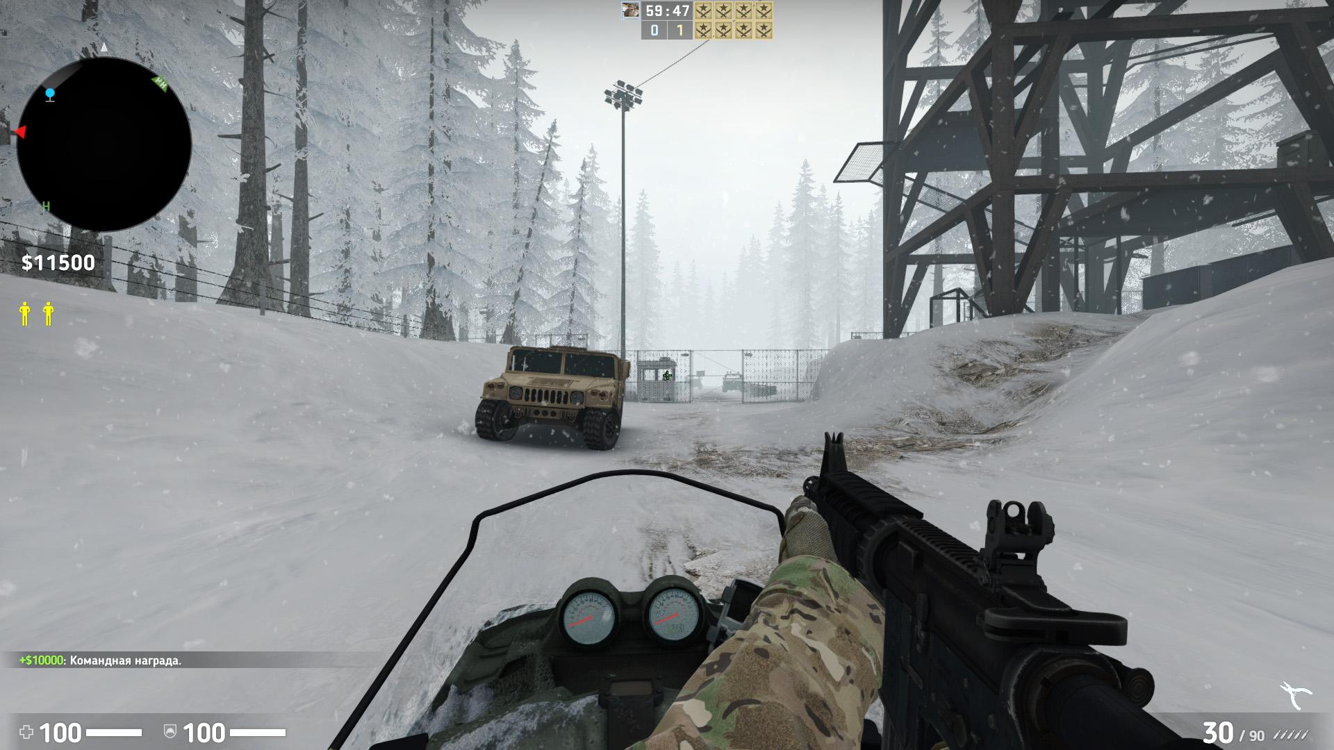 Скачать карту coop_mission_escape для CS:GO