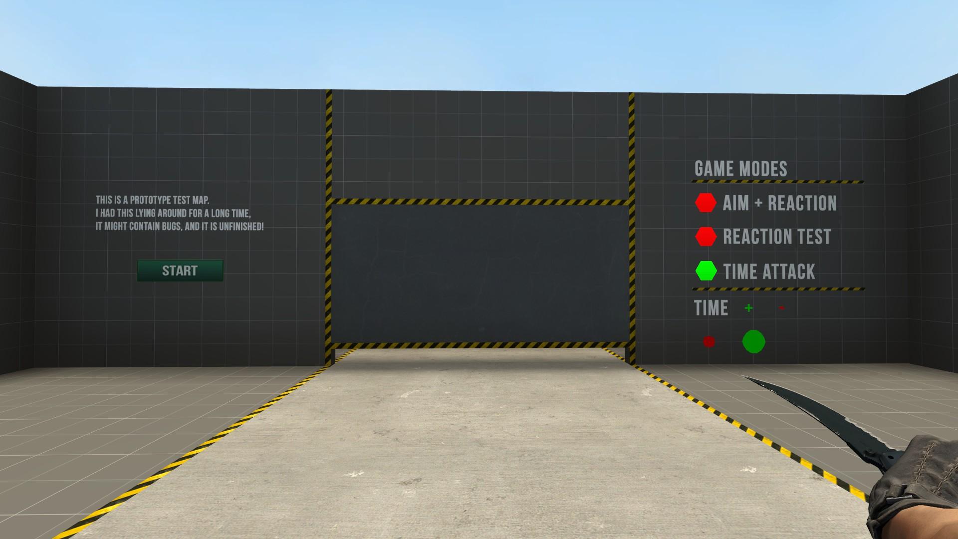 Скачать карту Aim React [Experimental] для CS:GO