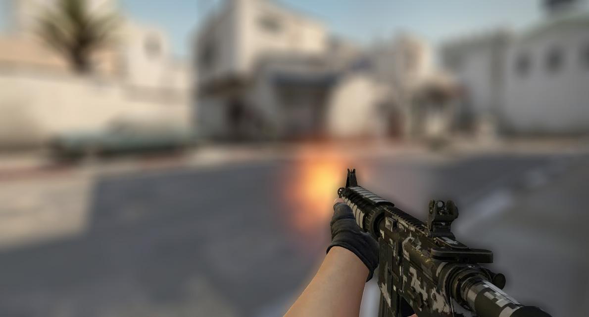 Как убрать тряску рук в CS:GO