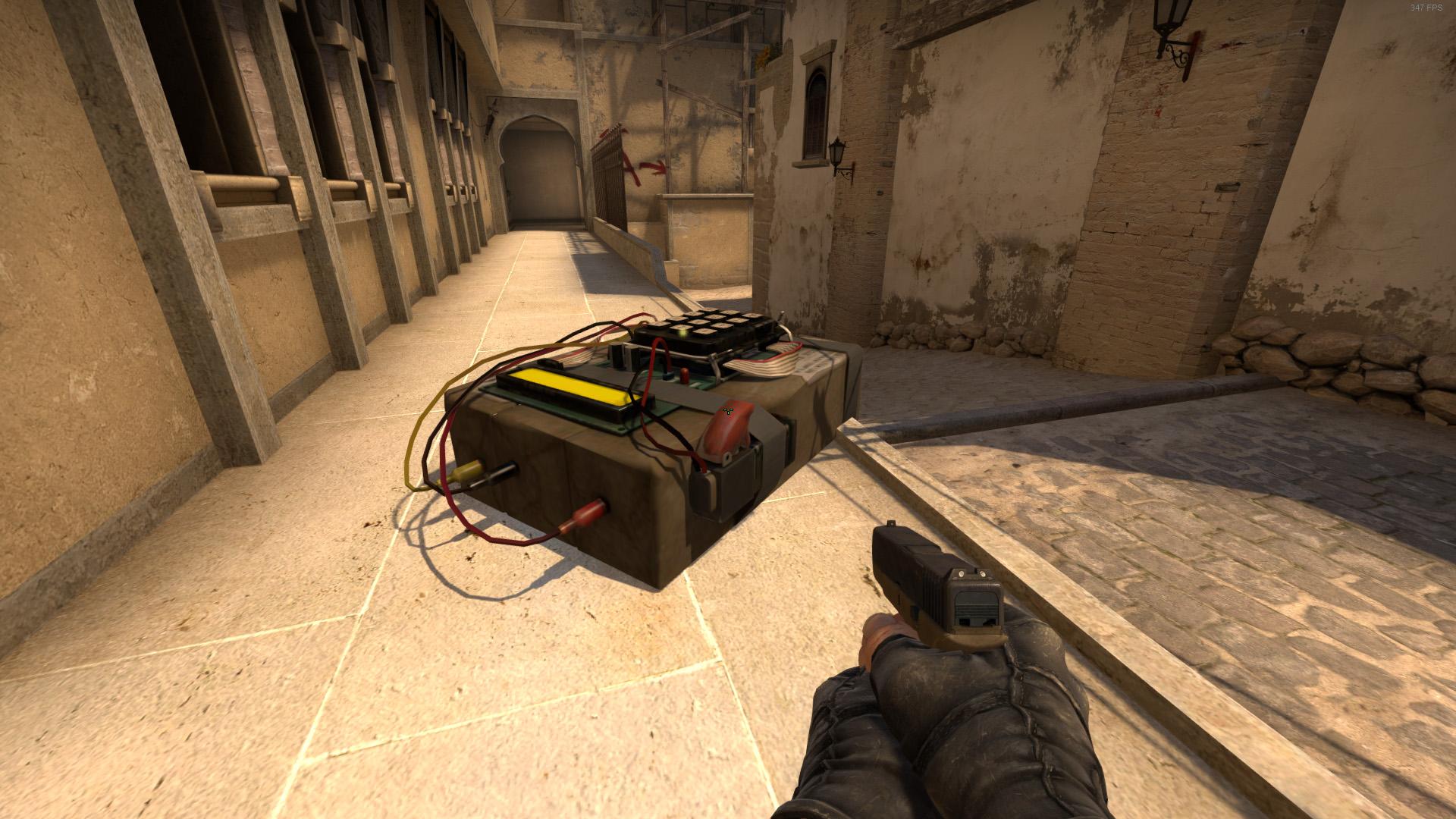 Как увеличить оружие в CS:GO