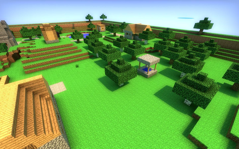 Скачать карту Hide and Seek - Minecraft Village для CS:GO