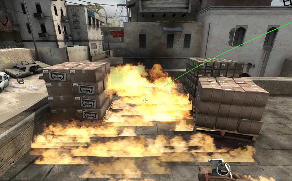 Огонь в CS:GO