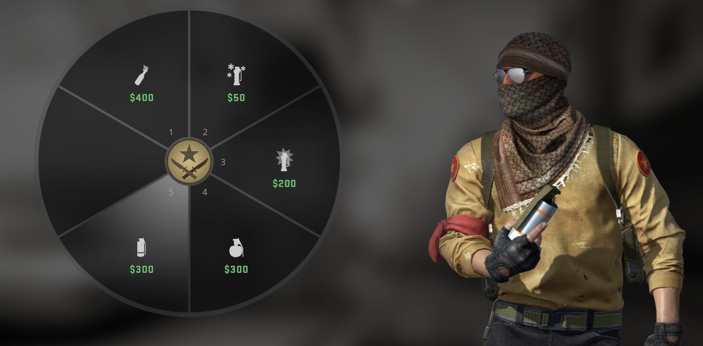 Покупка гранат CS:GO