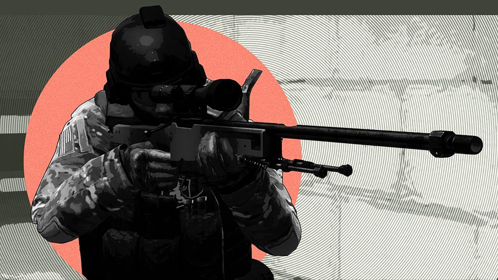 Снайпер CS:GO